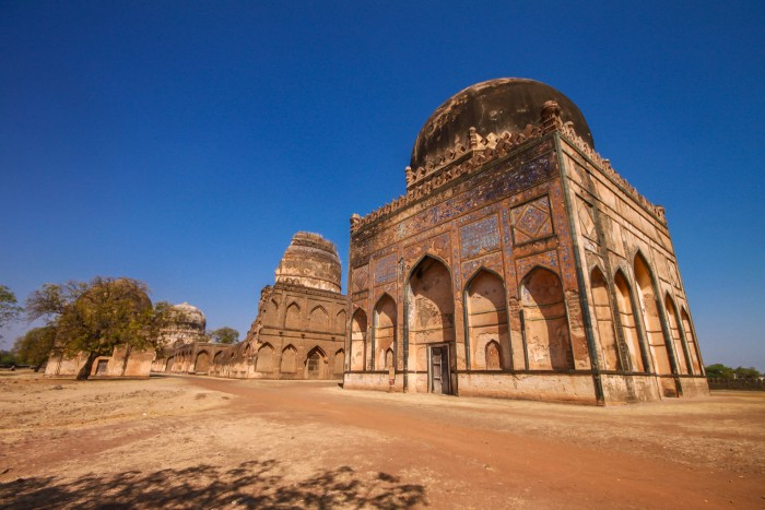 Ruins of Ashtur tombs, Bidar There are arrays of tombs of the Royal family, built during the Bahmani dynasty and each has got very delicate paintings of 15th century